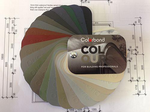 Colorbond Samples